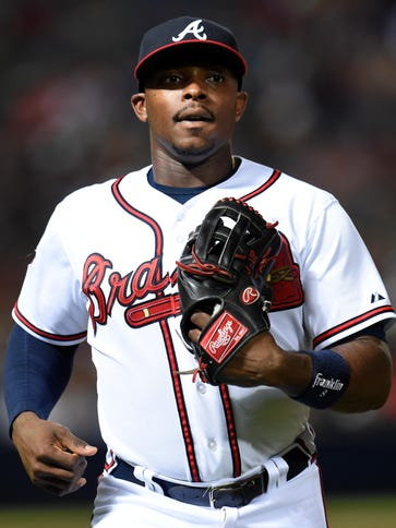 B.J.  Upton, 27, a two-time All-Star, hit 29 homers