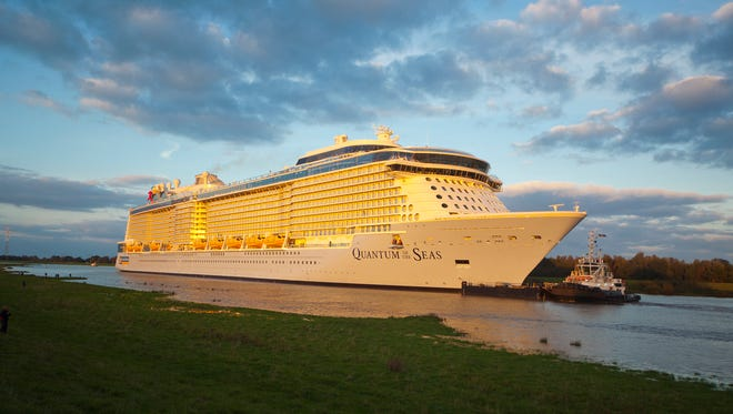 Royal Caribbean's 4,180-passenger Quantum of the Seas.
