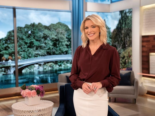 Megyn Kelly is seen around the launch of her now-defunct morning show in the fall of 2017.