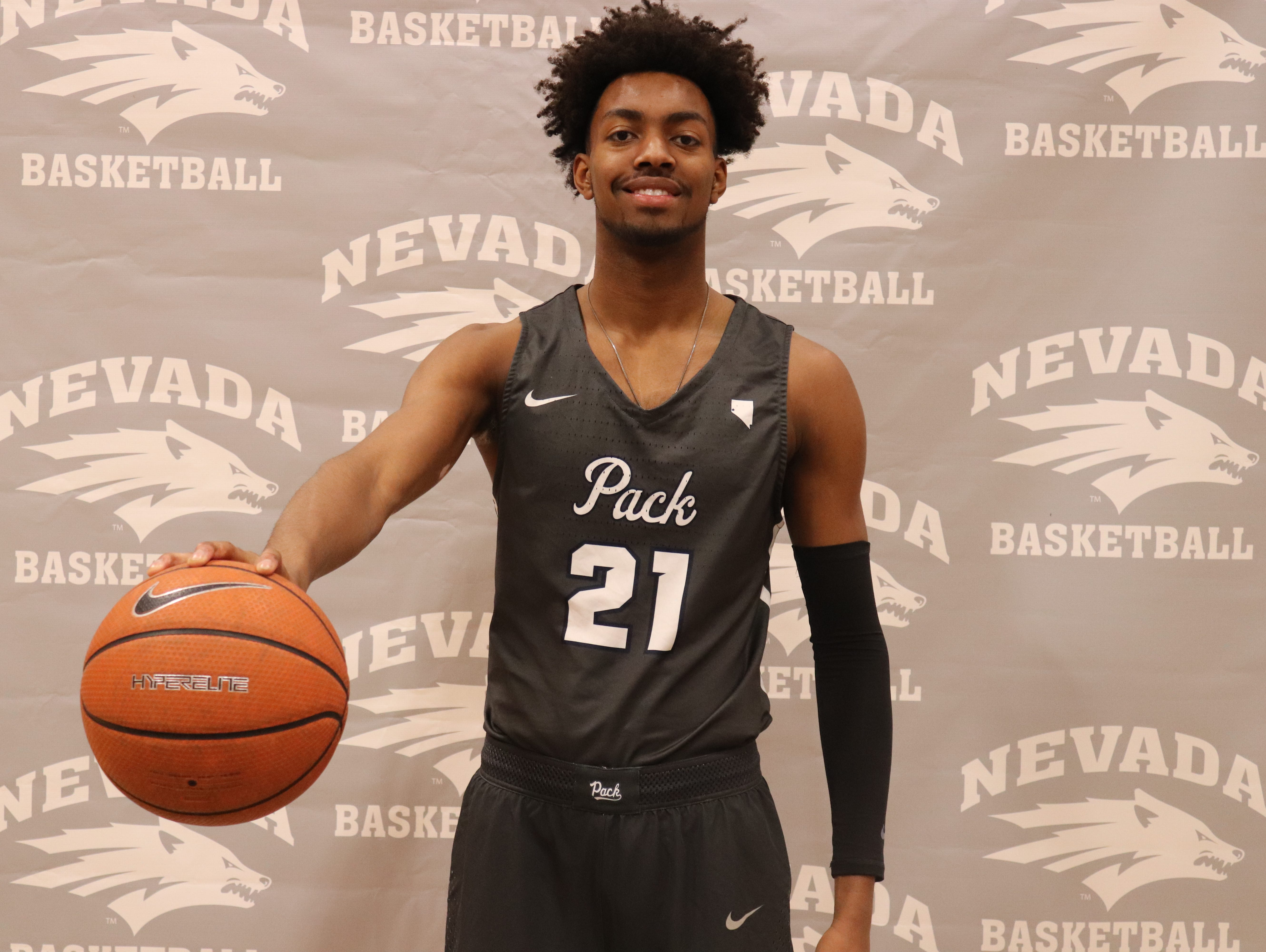 new york 74dff 2b7fa ... discount code for jordan brown will be a freshman for the nevada  basketball 74662 7efbe