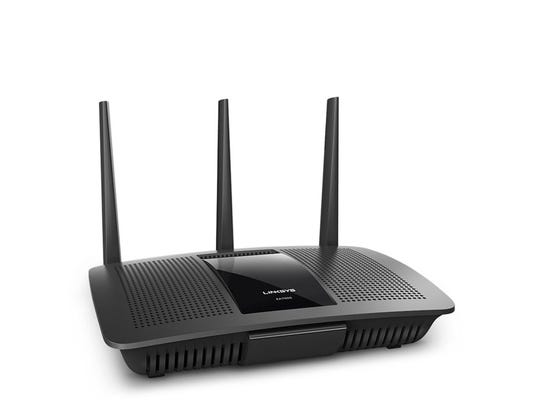 The Linksys ea7500 ac1900 router. Updating your router's firmware is key to protecting it from cyber attacks.