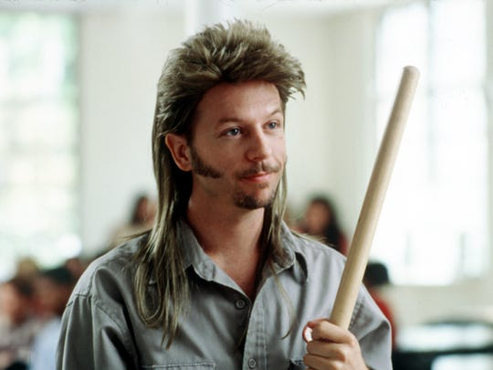 "David Spade stars in ""Joe Dirt."""