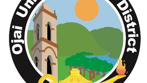 Ojai Unified School District logo.