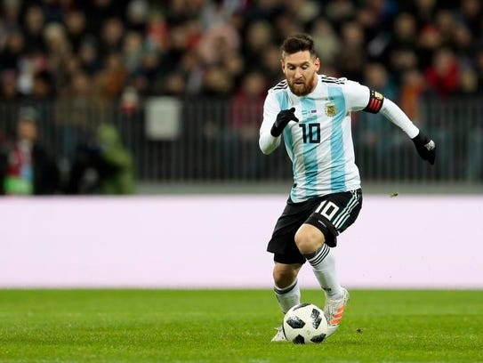 Argentina's Lionel Messi could be playing in his final