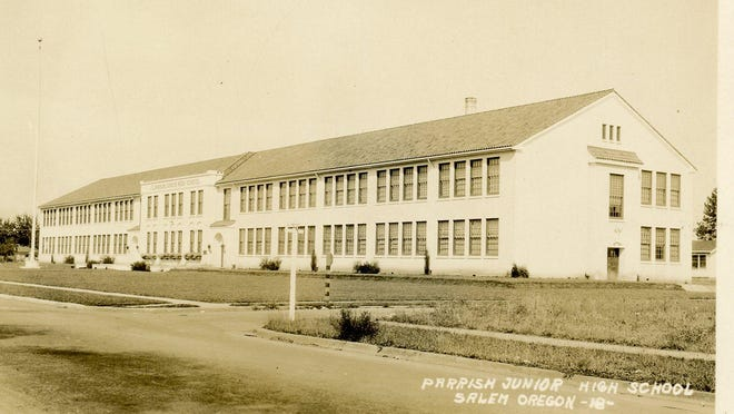 Parrish Middle School is seen around 1926. It opened Sept. 29, 1924.