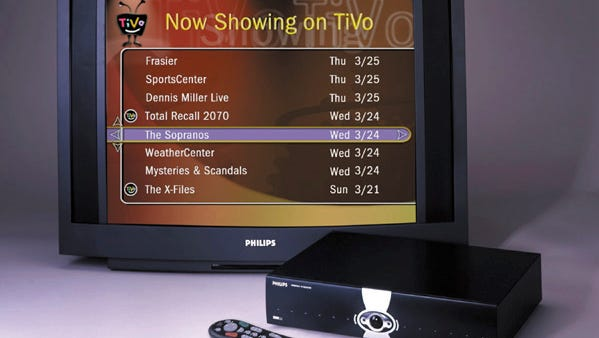 The Philips Personal TV receiver with TiVo.
