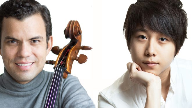 """Cello sensation Francisco Vila-Haas and pianist Steven Lin, silver medal winner in the Arthur Rubenstein Piano Competition, will present """"Summer of Love"""" at 7:30 p.m., Friday, Aug. 11, at Eastminster Presbyterian Church in Indialantic."""