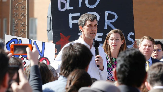 Rep. Beto O'Rourke, D-Texas, raised more than $2 million for his Senate campaign against Texas Sen. Ted Cruz during the April to June period, the O'Rourke campaign announced Thursday, June 13, 2017.