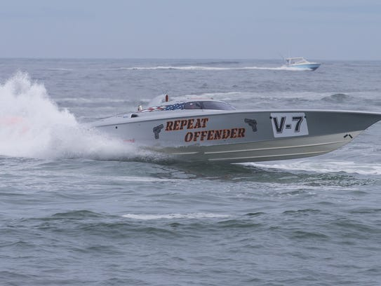 File photo: One of Repeat Offender's boats are shown
