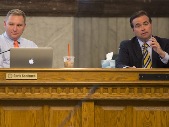 The raise proposal made last week by Mayor John Cranley (right) is just the latest attack on Cincinnati's city manager form of government, a resident writes. At left is Councilman Chris Seelbach.