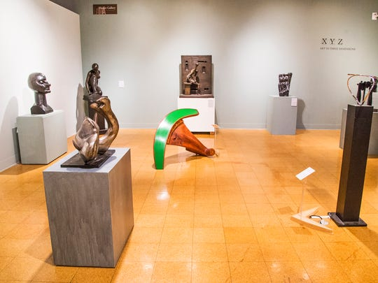 """This is the room at the University of Arizona Museum of Art where """"Woman-Ochre,"""" a painting by Willem de Kooning,  was stolen in a brazen heist in 1985. Photo taken Thursday, August 10, 2017."""