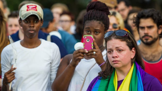 A year ago, over a hundred people gathered at Lake Ella for a vigil in honor of the lives lost during the mass shooting at Pulse nightclub in Orlando.