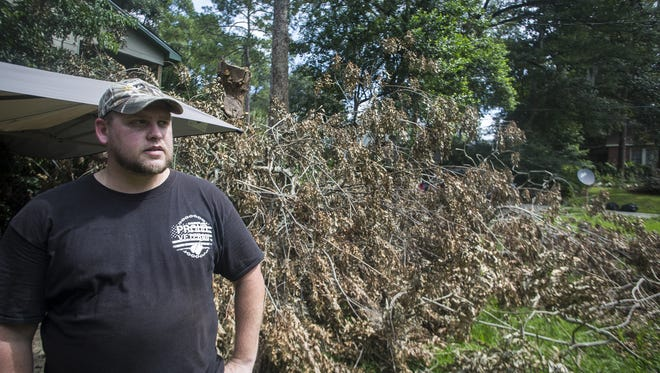 Louis Engelbrecht was on his eleventh day Monday without power after Hurricane Hermine.
