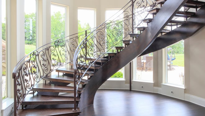 The staircase that started it all.