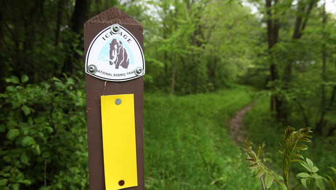 Volunteers of the Ice Age Trail are not allowed to work during the federal government shutdown due to insurance issues.