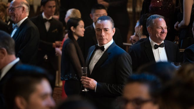 """Jean-Claude Van Damme plays """"himself,"""" apparently using his martial arts/movie career as a cover for his work as an undercover agent, in """"Jean-Claude Van Johnson."""""""