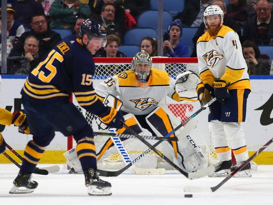 NHL: Nashville Predators at Buffalo Sabres