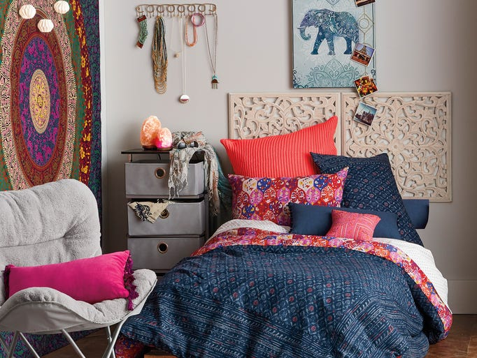 Bed Bath & Beyond's Anthology Happy Indigo Reversible