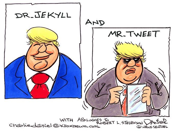 Charlie Daniel cartoon for Feb. 28, 2018