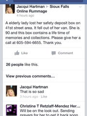 Sioux Falls Online Rummage group on Facebook