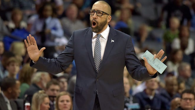 Grizzlies coach David Fizdale