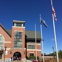Several people posted photos on Instagram of the new Black Lives Matter flag flying near the University of Vermont Student Center.