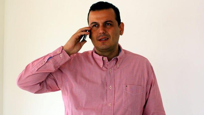 Guillermo Valencia, alcalde del municipio de Tepalcatepec, Michoacán.