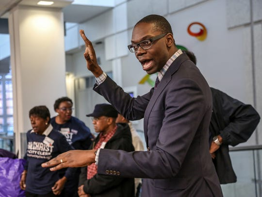 Garlin Gilchrist, who lost his election for Detroit