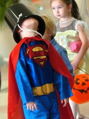 Let your child be goofy and safe for a night this Halloween.