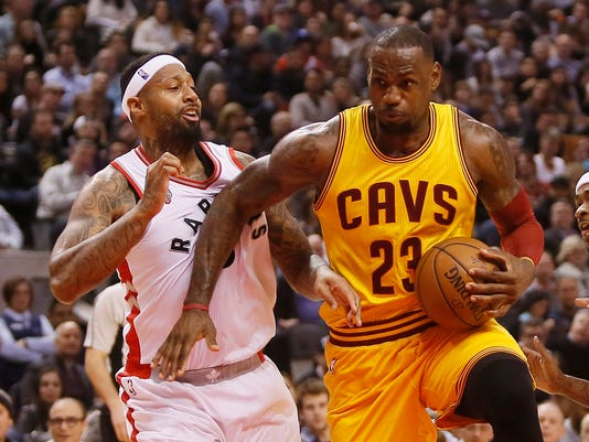 USP NBA: CLEVELAND CAVALIERS AT TORONTO RAPTORS S BKN CAN ON
