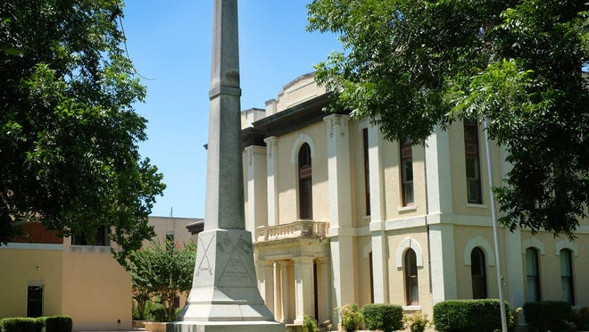 The Confederate monument on the Bastrop County Courthouse lawn has been the source of controversy as some residents want it removed or relocated and others want it to remain in place.