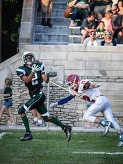 Vincennes Lincoln senior Caden Kotter caught 37 passes for 858 yards last season.