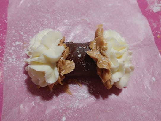 "Simply Cannoli's ""Chocolate Peanut Butter Cannoli"""