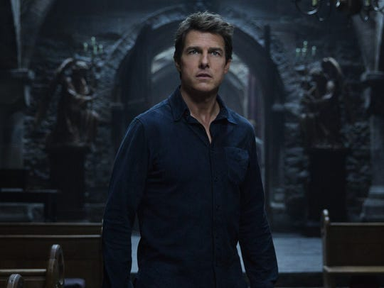 Tom Cruise earned a worst-actor nod for 'The Mummy.'