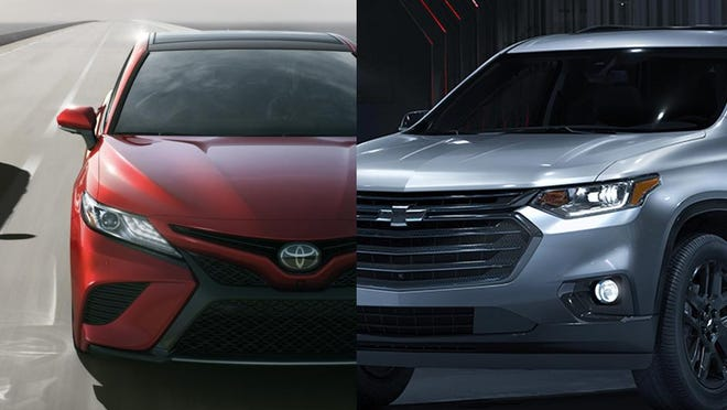 "The all-new 2018 Toyota Camry was dubbed ""sexy"" by Toyota president Akio Toyoda at its world debut in January. Chevrolet will complete the transformation of its crossover and SUV lineup with the introduction of the next-generation Traverse on January 9 at the North American International Auto Show."