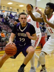 Bryce Root scored a team-high 13 points in Fremont Ross's setback Friday.