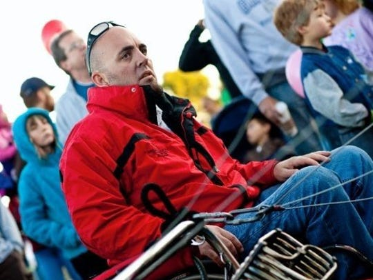 The Arizona resident is the world's first paraplegic