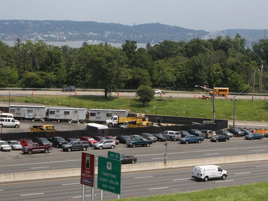 South Nyack and Thruway officials are working together to create parking for the new Tappan Zee Bridge shared path at Exit 10 on the New York State Thruway in South Nyack.