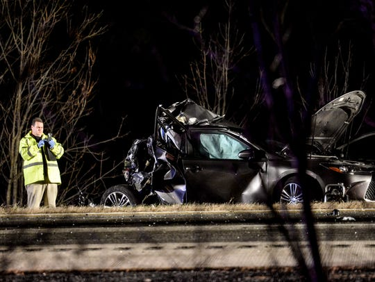 Driver Ralph Chevalier, 50, and his passenger, Dawn