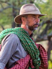 TANZANIA, AFRICA - Jens Rasmussen, Survival Expert.