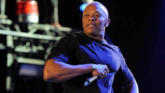 Dr. Dre, shown performing at Coachella in 2012, turned 50 on Feb. 18.