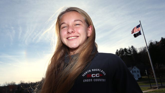North Rockland's Katelyn Tuohy, Rockland girls cross-country runner of the year Nov. 23, 2016.