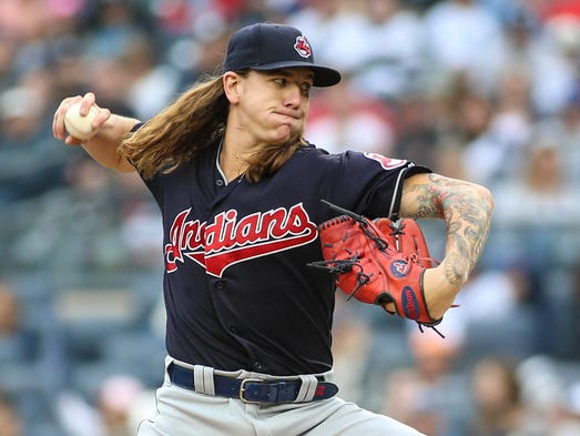 May 6: Mike Clevinger, Indians, 10 at Yankees