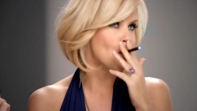 Jenny McCarthy uses an electronic cigarette  in a TV ad.