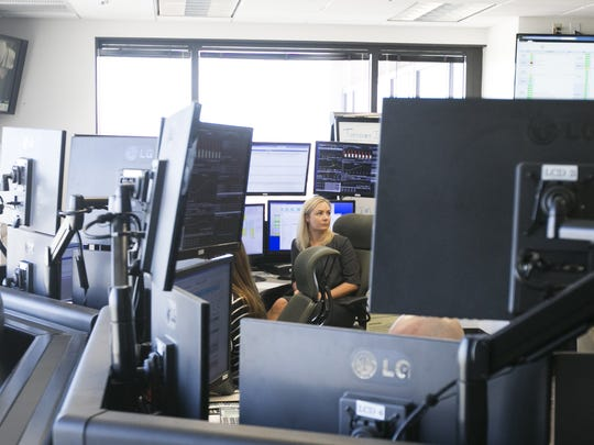 Jessica Kelsey, real-time trader, works at the power