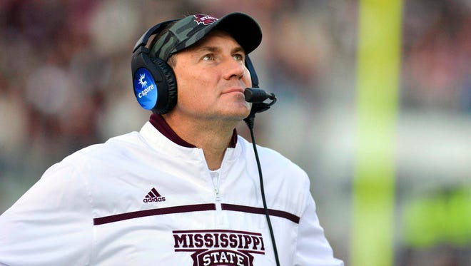 Mississippi State coach Dan Mullen reportedly interviewed with Miami.
