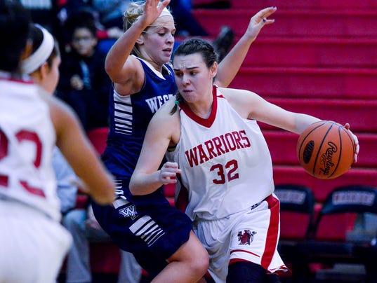 PHOTOS:West York vs Susquehannock girls basketball