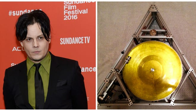Jack White is launching a turntable into space.