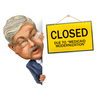 Editorial: Branstad's unproven Medicaid claims piling up