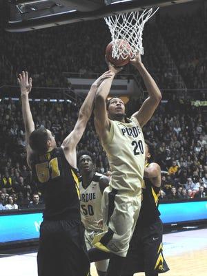 Purdue honors basketball legend Rick Mount Saturday night despite dropping a loss to Iowa.